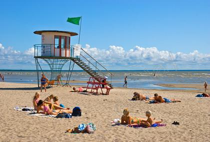 56254 Rand The Beach In Pärnu Estonia Europe Keywords Sandy